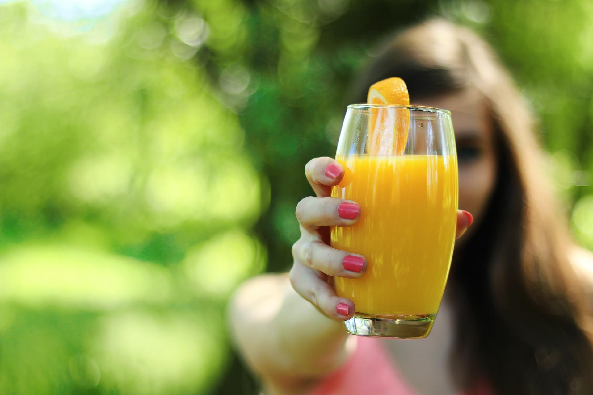 Jus d'orange naturel